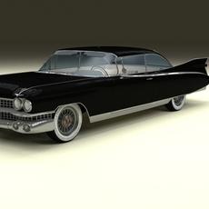 1959 Cadillac Eldorado Coupe 3D Model