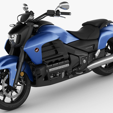 Honda Valkyrie / Gold Wing F6C 3D Model