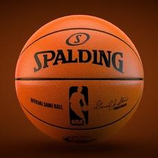 Spalding NBA Official game ball 3D Model