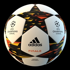 UEFA Champions league Official ball 3D Model