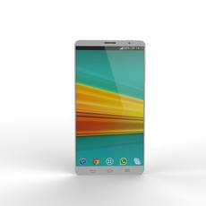 Generic Smart Phone 5 Inch 3D Model