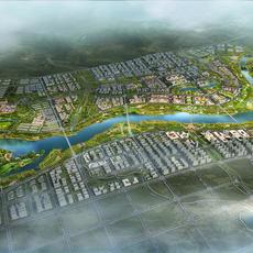 City Plan 005 3D Model