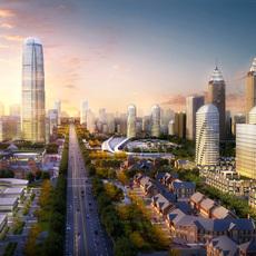 City Plan 007 3D Model