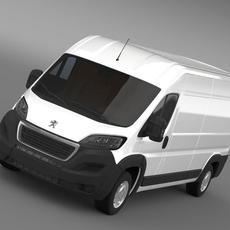 Peugeot Manager Furgon L3H2 2014 3D Model