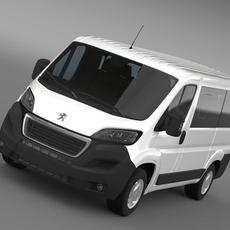 Peugeot Boxer L1H1 2014 3D Model