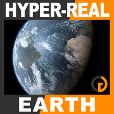 Hyper-Real Dynamic Earth Shader 2.0 3D Model