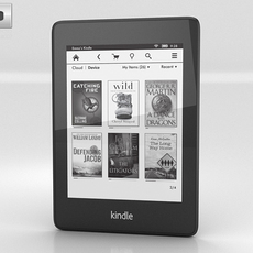 Amazon Kindle Paperwhite (2013) 3D Model