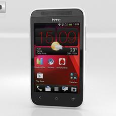 HTC Desire 200 3D Model