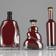 Cognac Elder 3D Model