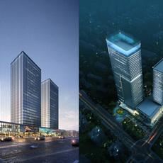 Skyscraper business center 026 3D Model