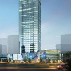 Skyscraper business center 030 3D Model
