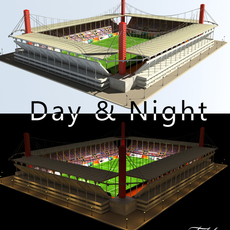 Stadium Level 3 Day&Night 3D Model