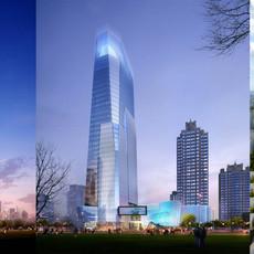 Skyscraper business center 036 3D Model