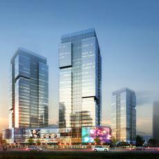 Skyscraper business center 037 3D Model