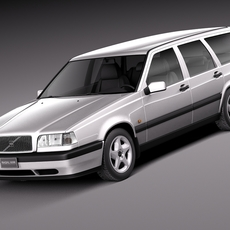 Volvo 850 Wagon 1991-1997 3D Model