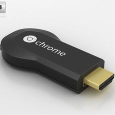 Google Chromecast 3D Model