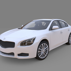 Generic car High detailed 3D Model