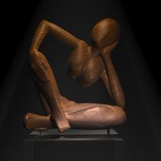 African sculpture 3D Model
