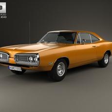 Dodge Coronet hardtop coupe 1970 3D Model