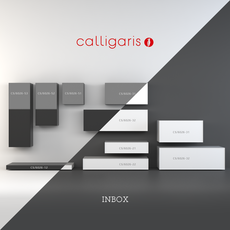 Storage system INBOX from Calligaris 3D Model