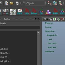 Dock Outliner for Maya 1.1.0 (maya script)