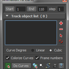 Animation To Curve for Maya 2.0.0 (maya script)