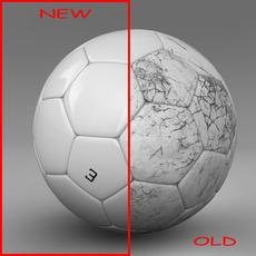 Soccerball white 3D Model