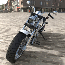 Motorcycle 3D Model