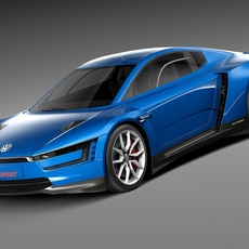 Volkswagen XL Sport 2015 3D Model
