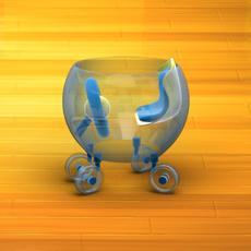 Baby Walker Cartoon 03 3D Model