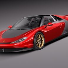 Ferrari Sergio 2015 3D Model