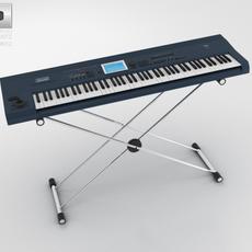 Sound Synthesizer 3D Model