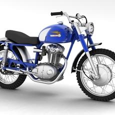 Ducati 250 Scrambler 1964 3D Model
