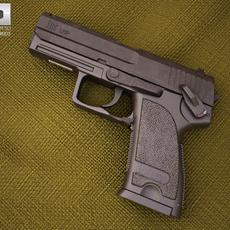 Heckler & Koch USP 3D Model