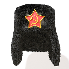 Russian Fur Hat 3D Model