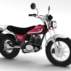 Suzuki RV125 VanVan 2013 3D Model