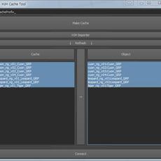 HJH Cache Tool for Maya 1.0.1 (maya script)