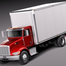Peterbilt 337 Box 2015 3D Model