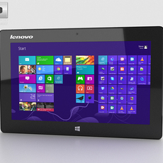 Lenovo Miix 10 Tablet 3D Model