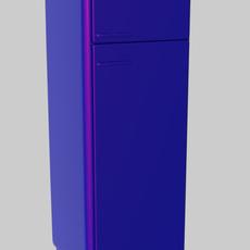refrigerator column 3D Model