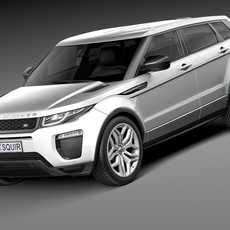 Range Rover Evoque 5-door 2016 3D Model
