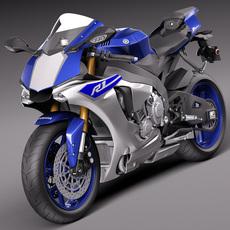 Yamaha YZF-R1  2015 3D Model