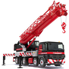 Mercedes Actros Mobile Crane HK70 3D Model