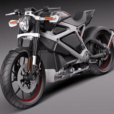 Harley-Davidson Project Livewire 3D Model