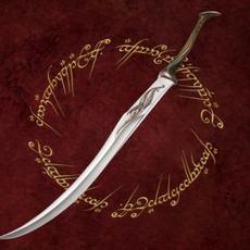Low-poly Elf Sentry Sword 3D Model
