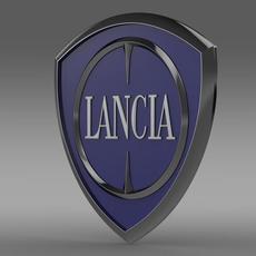 Lancia logo 3D Model