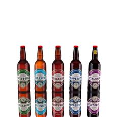 Beer Bottles low-poly 3D Model