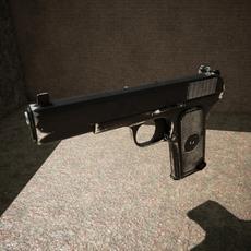 Tokarev TT pistol 3D Model