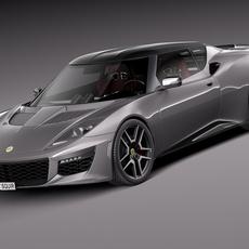 Lotus Evora 400 2016 3D Model