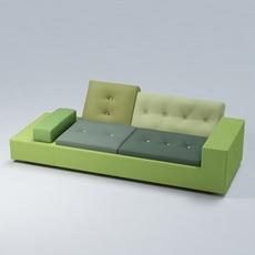 Polder Sofa 3D Model